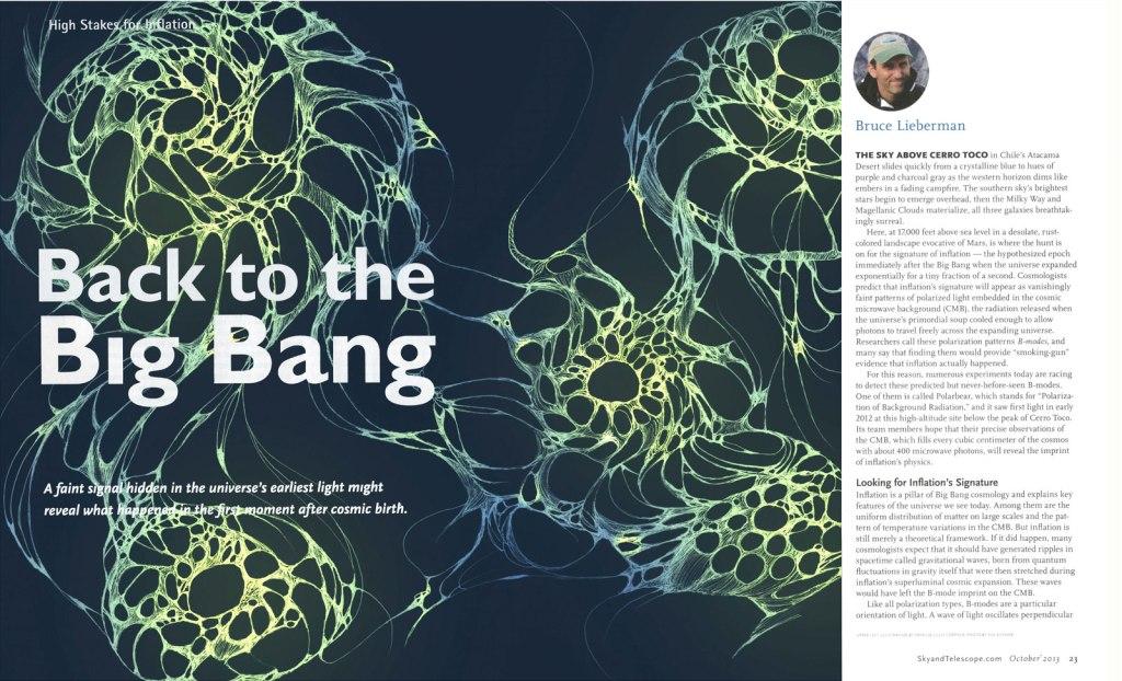 Back to the Big Bang